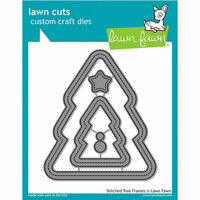 Lawn Fawn - Lawn Cuts - Dies - Stitched - Christmas Tree Frames