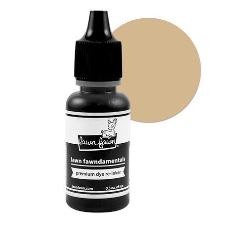 Lawn Fawn - Premium Dye Ink Reinker - Pizza Crust