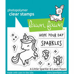 Lawn Fawn - Clear Photopolymer Stamps - A Little Sparkle