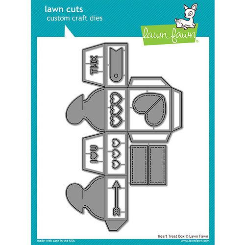 Lawn Fawn - Lawn Cuts - Dies - Heart Treat Box