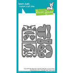 Lawn Fawn - Lawn Cuts - Dies - Tiny Gift Box Raccoon and Fox Add-On