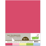 Lawn Fawn - 8.5 x 11 Cardstock - Sherbet - 10 Pack