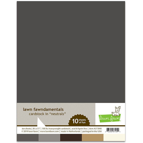 Lawn Fawn Neutrals Cardstock