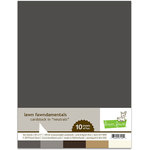 Lawn Fawn - 8.5 x 11 Cardstock - Neutrals - 10 Pack