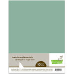 Lawn Fawn - 8.5 x 11 Cardstock - Sage Leaf - 10 Pack