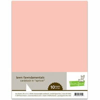 Lawn Fawn - 8.5 x 11 Cardstock - Apricot - 10 Pack