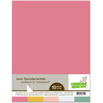 Lawn fawn - 8.5 x 11 Cardstock Pack - Schoolyard - 10 Pack