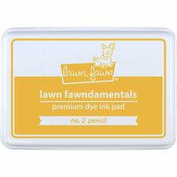 Lawn Fawn - Premium Dye Ink Pad - No. 2 Pencil