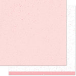Lawn Fawn - Spiffy Speckles Collection - 12 x 12 Double Sided Paper - Strawberry Frosting
