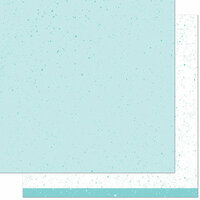 Lawn Fawn - Spiffy Speckles Collection - 12 x 12 Double Sided Paper - Seafoam
