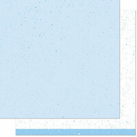 Lawn Fawn - Spiffy Speckles Collection - 12 x 12 Double Sided Paper - Robin's Egg