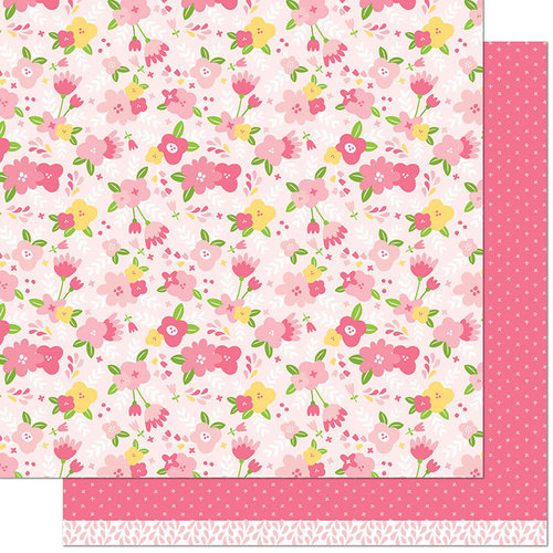 Lawn Fawn - Spring Fling Collection - 12 x 12 Double Sided Paper - Debbie