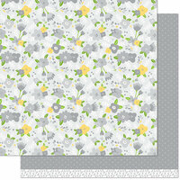 Lawn Fawn - Spring Fling Collection - 12 x 12 Double Sided Paper - Karolina