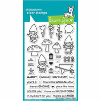 Lawn Fawn - Clear Photopolymer Stamps - Oh Gnome