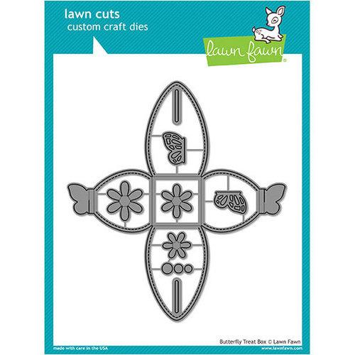 Lawn Fawn - Lawn Cuts - Dies - Butterfly Treat Box