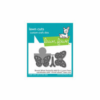 Lawn Fawn - Lawn Cuts - Dies - Reveal Wheel - Butterfly Add-On