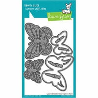 Lawn Fawn - Lawn Cuts - Dies - Layered Butterflies