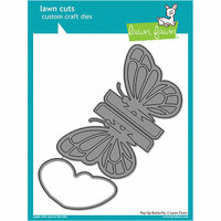 Lawn Fawn - Lawn Cuts - Dies - Pop-Up Butterfly
