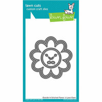 Lawn Fawn - Lawn Cuts - Dies - Outside In Stitched - Flower