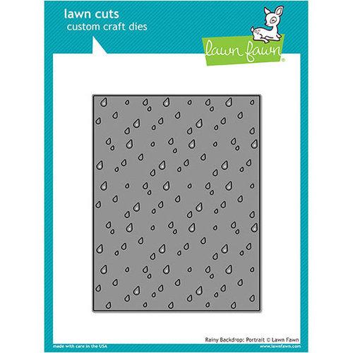 Lawn Fawn - Lawn Cuts - Dies - Rainy Backdrop - Portrait
