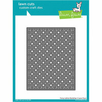 Lawn Fawn - Lawn Cuts - Dies - Fancy Lattice Backdrop