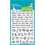 Lawn Fawn - Clear Photopolymer Stamps - Plan on It - Meal Planning