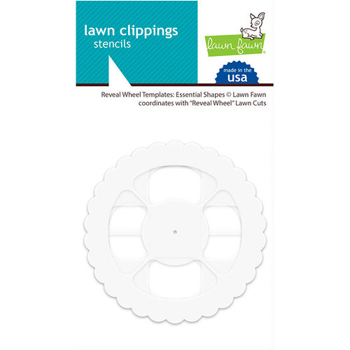 Lawn Fawn - Reveal Wheel Templates - Essential Shapes