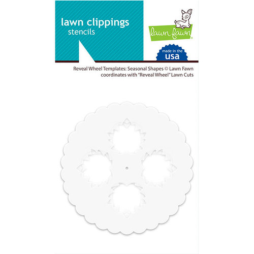 Lawn Fawn - Reveal Wheel Templates - Seasonal Shapes