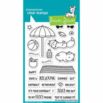 Lawn Fawn - Clear Photopolymer Stamps - On the Beach