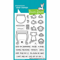 Lawn Fawn - Clear Photopolymer Stamps - Keep on Swimming