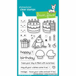 Lawn Fawn - Clear Photopolymer Stamps - Birthday Before 'n Afters