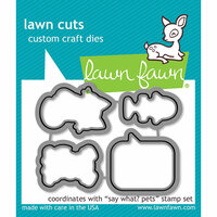 Lawn Fawn - Lawn Cuts - Dies - Say What Pets