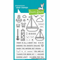 Lawn Fawn - Clear Photopolymer Stamps - Smooth Sailing
