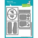 Lawn Fawn - Lawn Cuts - Dies - Center Picture Window Card