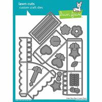 Lawn Fawn - Lawn Cuts - Dies - Cake Slice Box