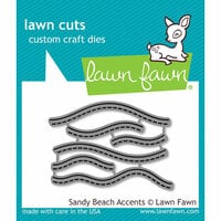 Lawn Fawn - Lawn Cuts - Dies - Sandy Beach Accents