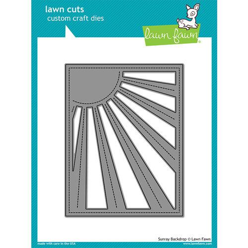 Lawn Fawn - Lawn Cuts - Dies - Sunray Backdrop