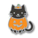 Lawn Fawn - Halloween - Enamel Pin - Cat-O-Lantern