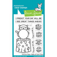 Lawn Fawn - Halloween - Clear Photopolymer Stamps - Fortune Teller Tabby
