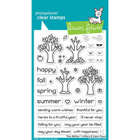 Lawn Fawn - Clear Photopolymer Stamps - Tree Before 'n Afters