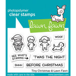 Lawn Fawn - Clear Photopolymer Stamps - Tiny Christmas
