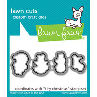 Lawn Fawn - Lawn Cuts - Dies - Tiny Christmas