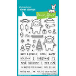 Lawn Fawn - Christmas - Clear Photopolymer Stamps - Yeti or Not
