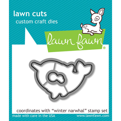 Lawn Fawn - Christmas - Lawn Cuts - Dies - Winter Narwhal