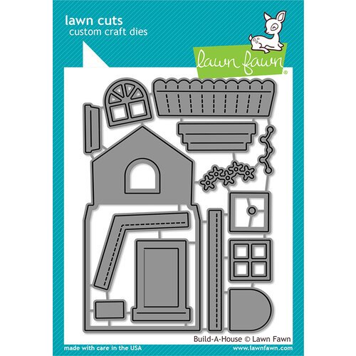 Lawn Fawn - Lawn Cuts - Dies - Build-A-House