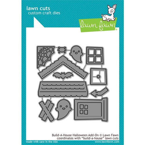 Lawn Fawn - Lawn Cuts - Dies - Build-A-House Halloween Add-On