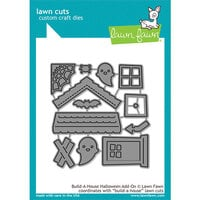 Lawn Fawn - Lawn Cuts - Dies - Build-A-House Halloween Add-On