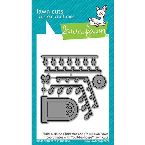 Lawn Fawn - Lawn Cuts - Dies - Build-A-House Christmas Add-On