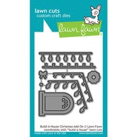Lawn Fawn - Lawn Cuts - Dies - Build-A-House Christmas Add-On