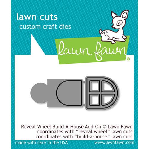 Lawn Fawn - Lawn Cuts - Dies - Reveal Wheel Build-A-House Add-On